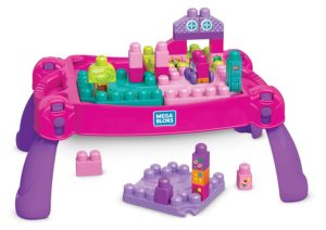 mega blocks building table