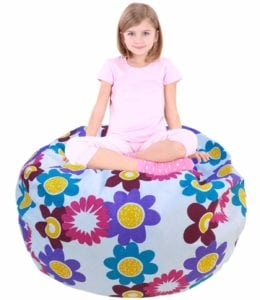 flower storage bean bag