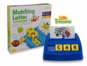 learning to spell game for preschoolers