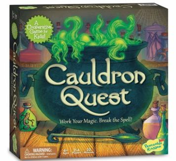 Cauldron Quest - Potions and Spells Game box set for Kids