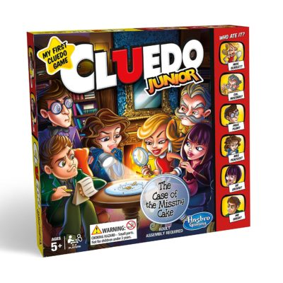 Cluedo Junior Game boxset