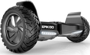 all terrain hoverboard in black