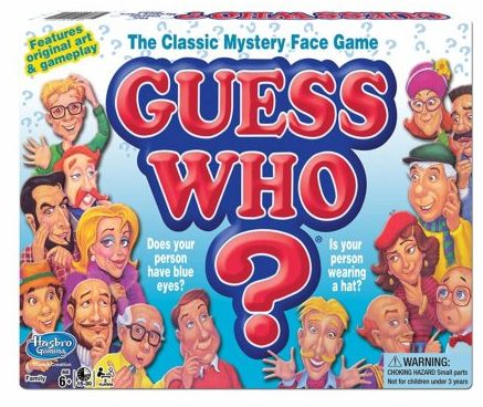 Guess Who Game board game boxset