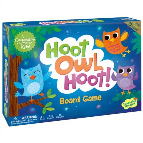 Hoot Owl Hoot! Board Game box-set
