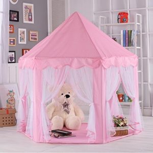 Pink Large Playhouse With Led Lights