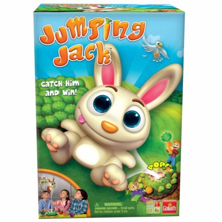 Jumping Jack rabbit with carrots game box set