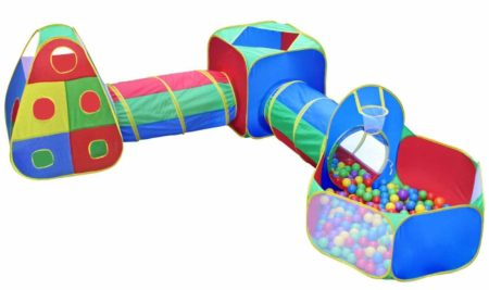 Play Tent with a Crawl Tunnel and ball pit for kids