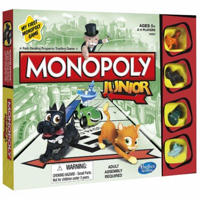 Monopoly board game by Hasbro