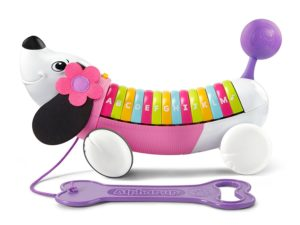 Pull along Toy dog in assorted colors