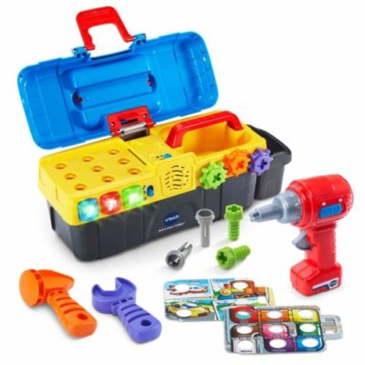 Drill Learn Toolbox By Vtech