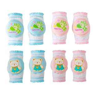 baby boy and girl knee pads for crawling
