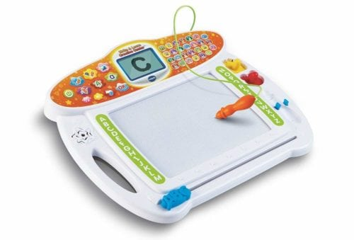 Learning toy magnetic drawing board
