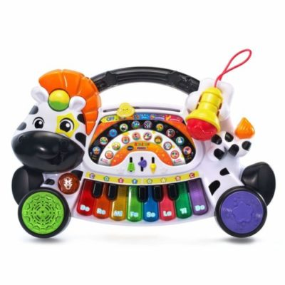 zebra piano toy instrument for toddlers