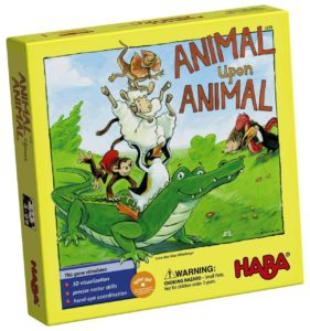 animal upon animal board game by haba
