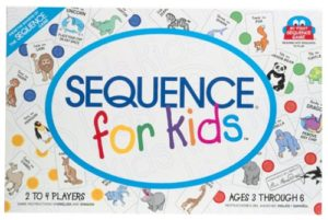 1 sequence for kids board game