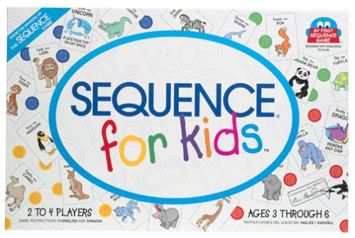 sequence board game for children