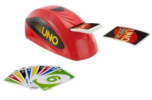 elecronic Uno card game
