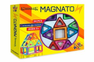 magnetic building tile set