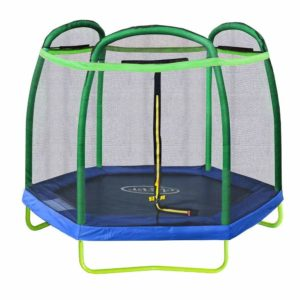 7ft trampoline with enclosure