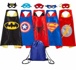 superhero dress up costume set