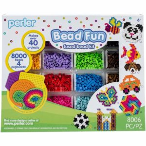 perler beads starter kit with templates