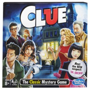 classic clue mystery game
