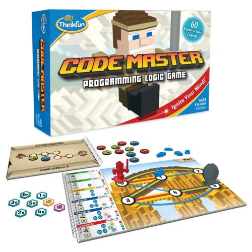code master board game box set