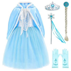 Frozen Elsa dressing up outfit