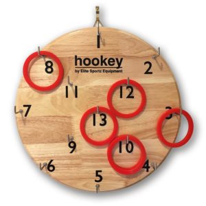 hookey hoop throwing game