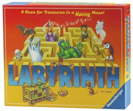 Labyrinth Board Game box set