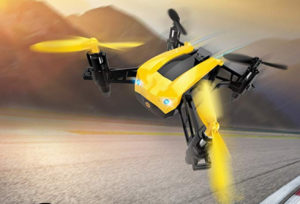 deerc racing drone with speeds up to 50 kmh