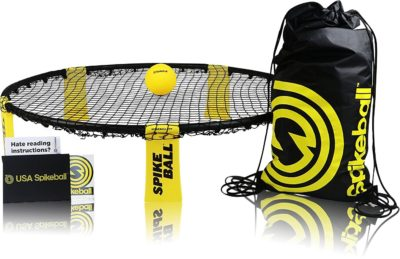 This is an image of a spikeball game set for kids.