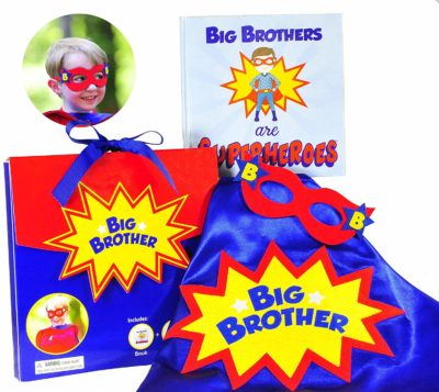 This is an image of a big brother superhero gift set.