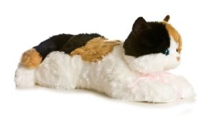 giant calico cat plush