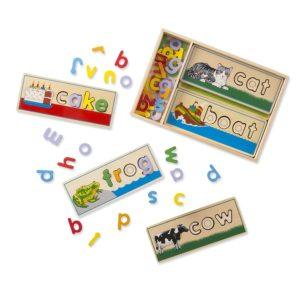 melissa and doug spelling puzzles