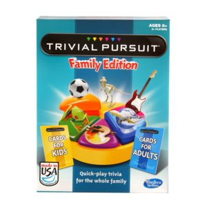 trivial pusuit family edition