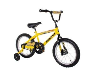 16 inch yellow bmx bike