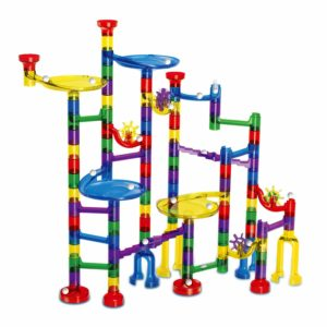 marble run with over 100 pieces