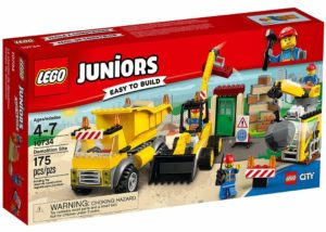 lego juniors construction site building toy