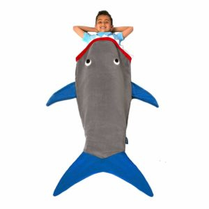 shark tail blanket