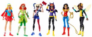 dc girls action figure set