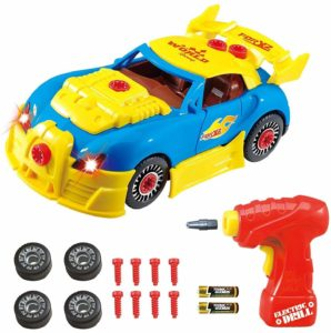 take apart race car toy