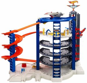 hot wheels ultimate race track garage set