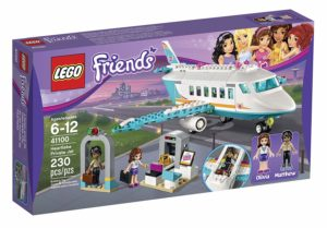 lego friends heartlake jet building kit