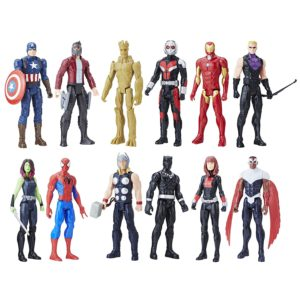 Set Of 12 Marvel Action Figures