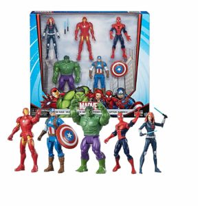 marvel action figures set of 5