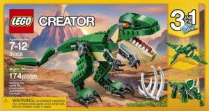 lego creator dinosaur building set