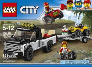 lego city atv building set