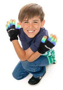 noodley led flashing light gloves