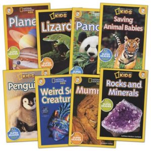 national geographic books for kids set of 8